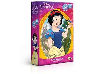 Princesas – Branca de Neve – 200 Peças Metalizado