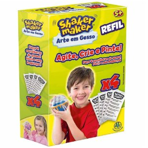 Shaker Maker Arte Em Gesso/refil - Dtc DTC