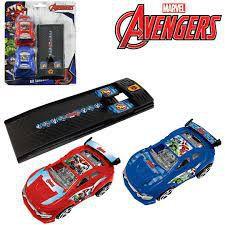 Carro Com Lancador Vingadores/avengers Com 3 Pecas Na Cartel