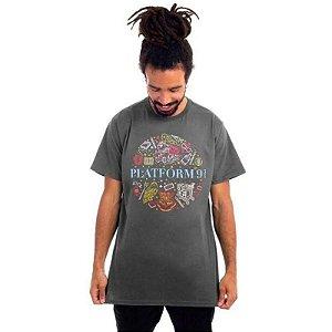 Camiseta Harry Potter Plataforma 9 3/4 - Piticas - G