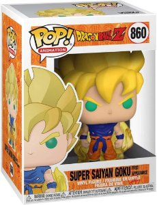 Funko Pop DBZ Sujer Sayajin Goku 860 - Primeira Aparição