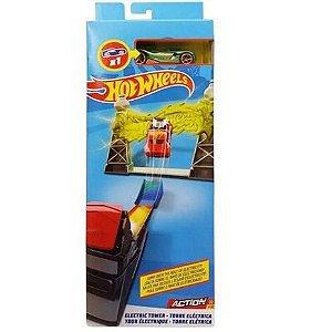 Set de Acrobacias Hot Wheels - Torre Elétrica - Mattel