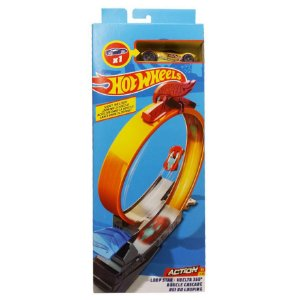 Set de Acrobacias Hot Wheels - Rei do Looping - Mattel