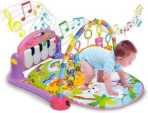 Ginásio Com Tapete De Atividades Bebê Som E Luz  Piano, KITSTAR