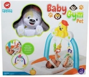 Ginásio para Bebês Baby Gym Pet - Calesita