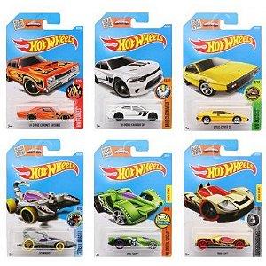 Hot Wheels Carros Básicos Sortidos - C4982 - Mattel