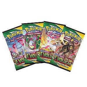 Booster Pokémon Espada e Escudo 7 Céus em Evolução