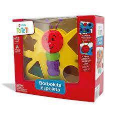 Brinquedo Educativo Borboleta Espoleta Calesita 862