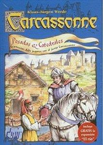 CARCASSONNE ESTALAGENS E CATEGRAIS - Expansão