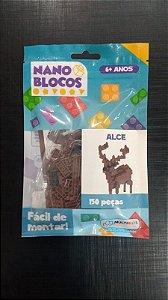 Nano Blocos - Animais- Alce