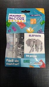 Nano Blocos - Animais- Elefante