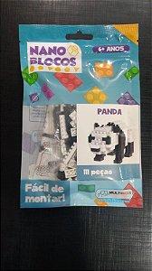 Nano Blocos - Animais- Panda