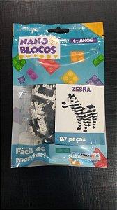 Nano Blocos - Animais- Zebra