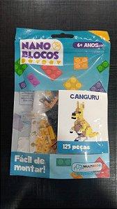 Nano Blocos - Animais- Canguru