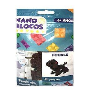 Nano Blocos - Animais Sortidos - Poodle