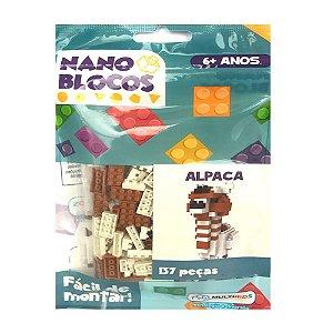 Nano Blocos - Animais Sortidos - Alpaca
