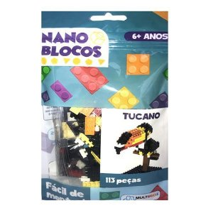 Nano Blocos - Animais Sortidos - Tucano