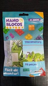 Nano Blocos - Dinossauros - Triceratops