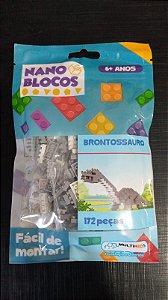 Nano Blocos - Dinossauros - Brontossauro