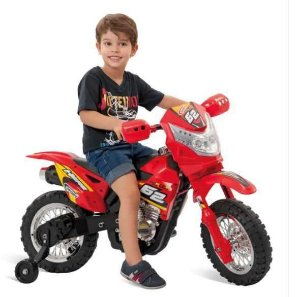 Moto Supercross EL. 6V - Bandeirantes
