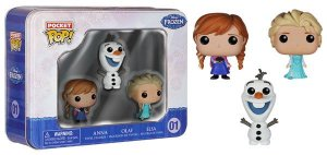 Funko - Frozen - Elsa, Anna & Olaff- Pocket Pop