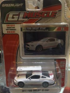 Muscle Series 14 1/64 - 2012 Ford Shelby GT-500