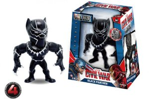 "METALS FIGURE 4"" MARVEL CIVIL WAR MOVIE-BLACK PANTHER"