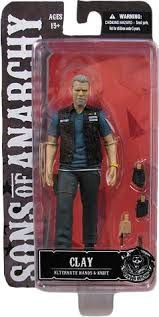 BONECO COLECIONAVEL - CLAY (SONS OF ANARCHY)