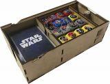 Porta Deck Star Wars Destiny (2 Decks) Tampa Acrílico