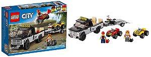 Lego City -Equipe de Corrida de Veiculo Off- Road