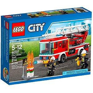 Lego City - CAMINHAO COM ESCADA DE COMBATE AO FOGO