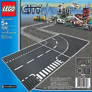 LEGO CITY - ENTROCAMENTO E CURVAS