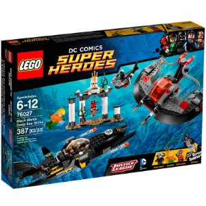 LEGO DC COMICS HERDES - O ATAQUE DO FUNDO DO MAR DE MANTA NEGRA 76027