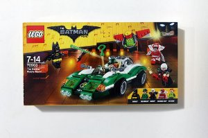 Lego The Batman - Riddle, o Carro de Corrida do Charada