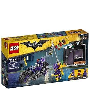 Lego The Batman - A Perseguicao de Motocicleta da Mulher Gato