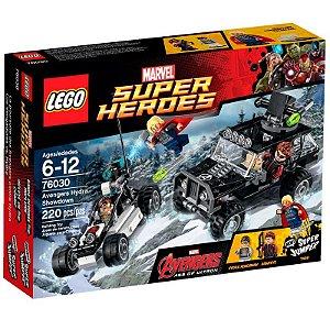 Lego Marvel Super Herdes - AJUSTE DE CONTAS DOS VINGADORES E HYDRA
