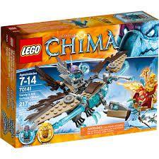 Lego Chima- PLANADOR ABUTRE DO GELO DE VARDY V39 EUA