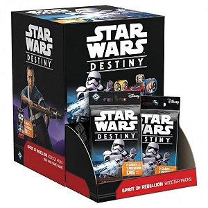 Espírito de rebelião - Expansão Star Wars Destiny -  Caixa Fechada Com 36 Pacotes