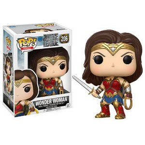 BONECO POP VINYL JL - WONDER WOMAN