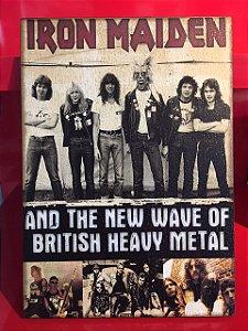 Quadro 30x20cm - Iron Maiden
