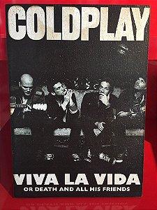 Quadro 30x20cm - Coldplay