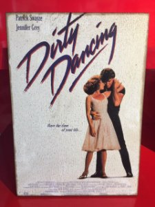 Quadro 30x20cm - Dirty Dancing