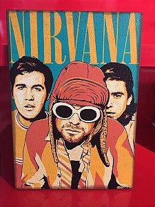 Quadro 30x20cm - Nirvana