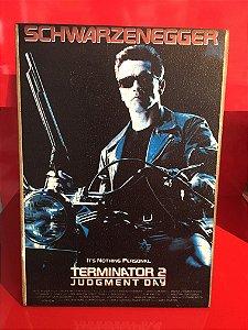 Quadro 30x20cm - Terminator 2