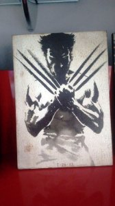 Quadro 30x20cm - Wolverine