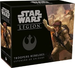 Star Wars Legion - Wave 0 - Troopers Rebeldes - Expansao de Unidade,