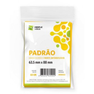 Sleeves PADRAO AMARELO 63.5 x 88mm