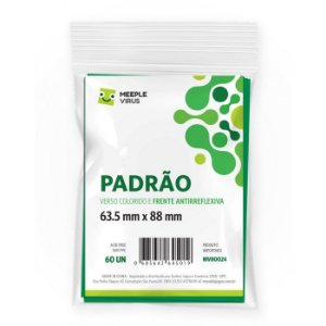Sleeves PADRAO VERDE 63.5 x 88mm