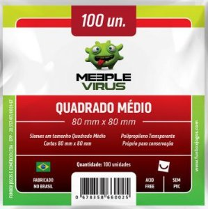 SLEEVE QUADRADO MEDIO 80 mm x 80 mm