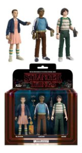 Stranger Things 3 pack - Pack 1 Action Figure